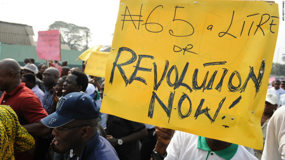 Nigerian Protesters